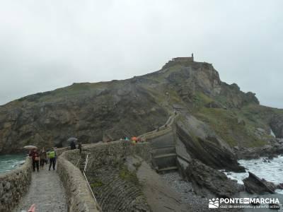 Reserva de la Biosfera Urdaibai - San Juan de Gaztelugatxe;web senderismo pistas y senderos